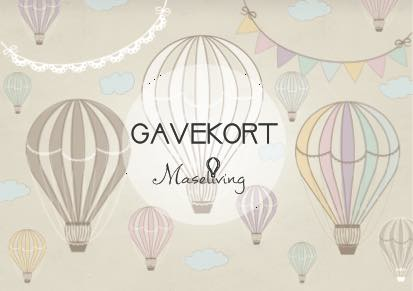 Gavekort Maseliving