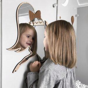 Ballerina giant mirror oak 07